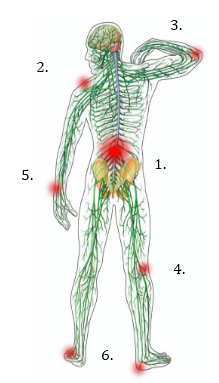 golfing body stress tension bsr simon green